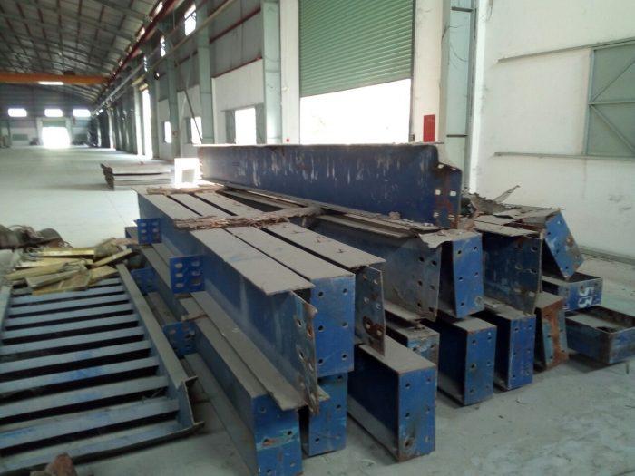 thu mua sắt thép tại KCN Long Hậu