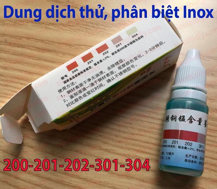 thuốc thử inox