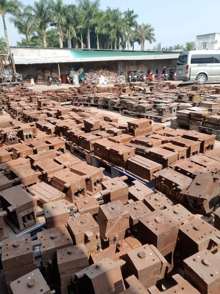 sắt thép phế liệu