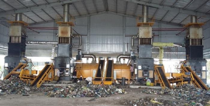 xử lý rác thải sinh hoạt