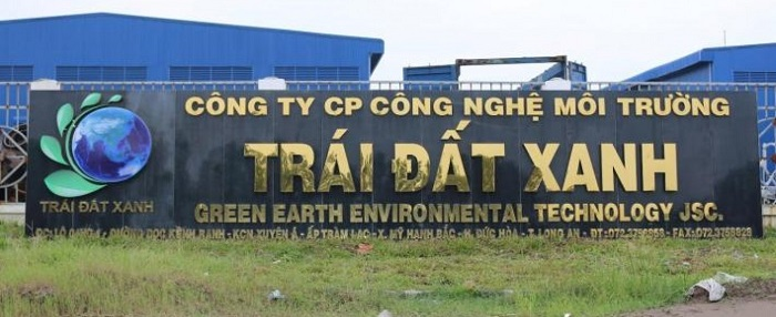 công ty môi trưởng Trái Đất Xanh