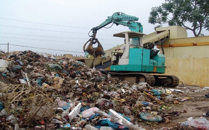 rác thải công nghiệp