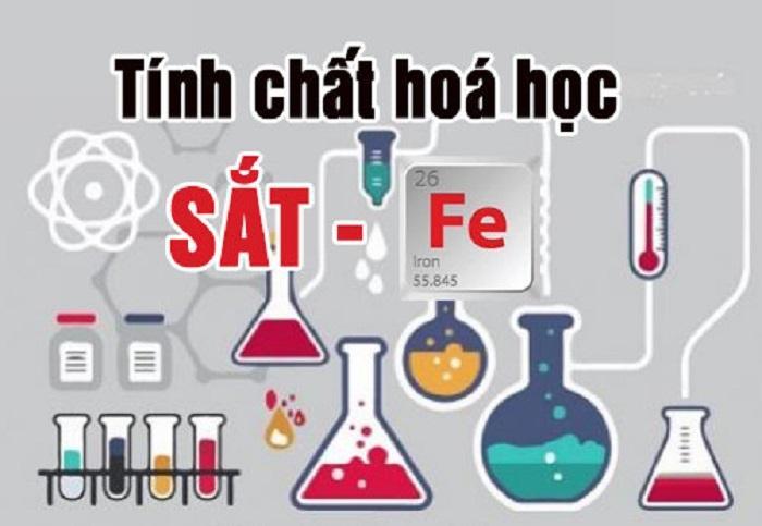 tính chất hóa học của sắt