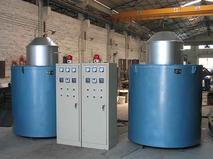 lò muối nhiệt luyện điện