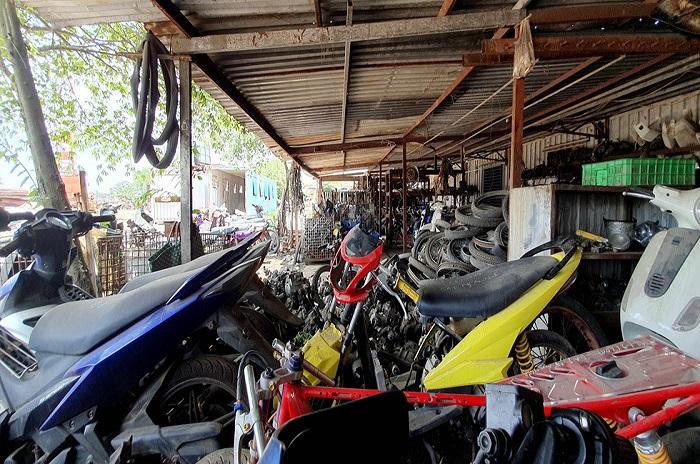 Thu mua xe máy cũ TPHCM