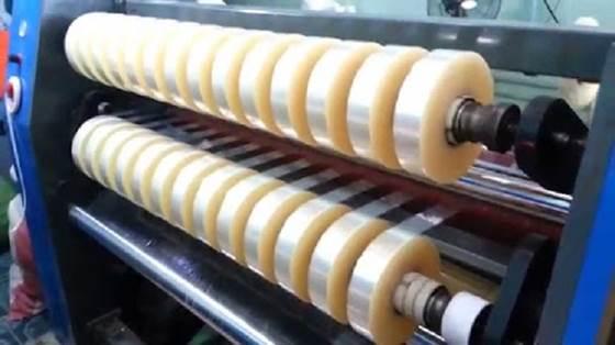 Ứng dụng máy cắt băng dính trong sản xuất
