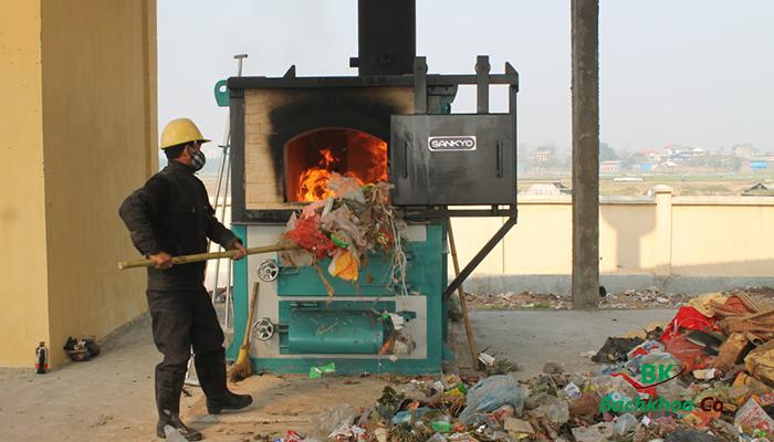 xử lý rác thải bằng phương pháp đốt