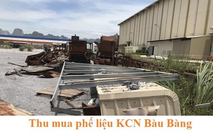 Thu mua phế liệu KCN Bàu Bàng