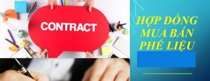 hợp đồng mua bán phế liệu