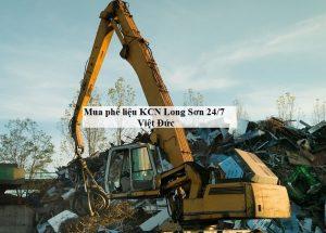 mua phế liệu KCN Long Sơn Việt Đức