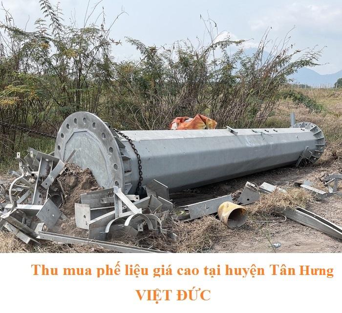 Thu mua phế liệu tại huyện Tân Hưng