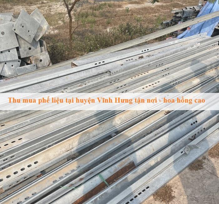 Thu mua phế liệu huyện Vĩnh Hưng