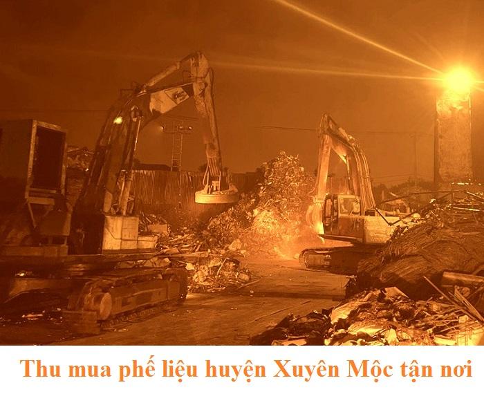 Thu mua phế liệu huyện Xuyên Mộc