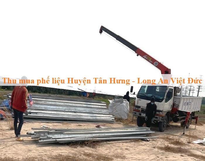 Thu mua phế liệu huyện Tân Hưng
