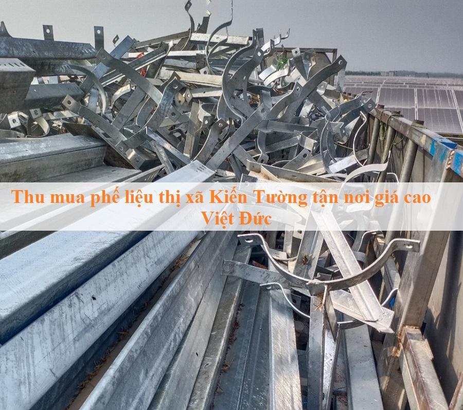Thu mua phế liệu thị xã Kiến Tường tận nơi giá cao Việt Đức
