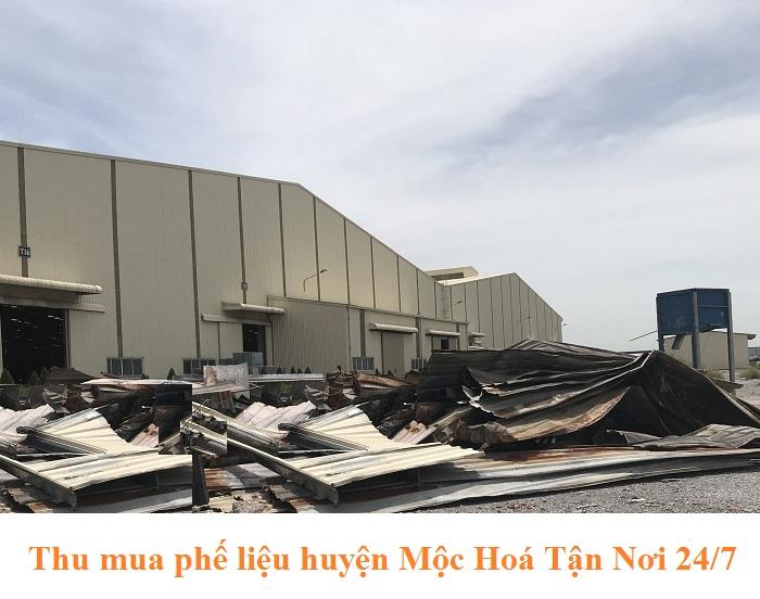 Thu mua phế liệu Huyện Mộc Hoá